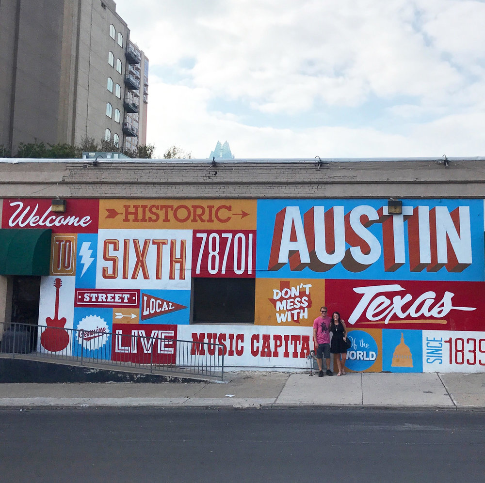 Austin Mural (Corner of 6th and Theresa Ave)