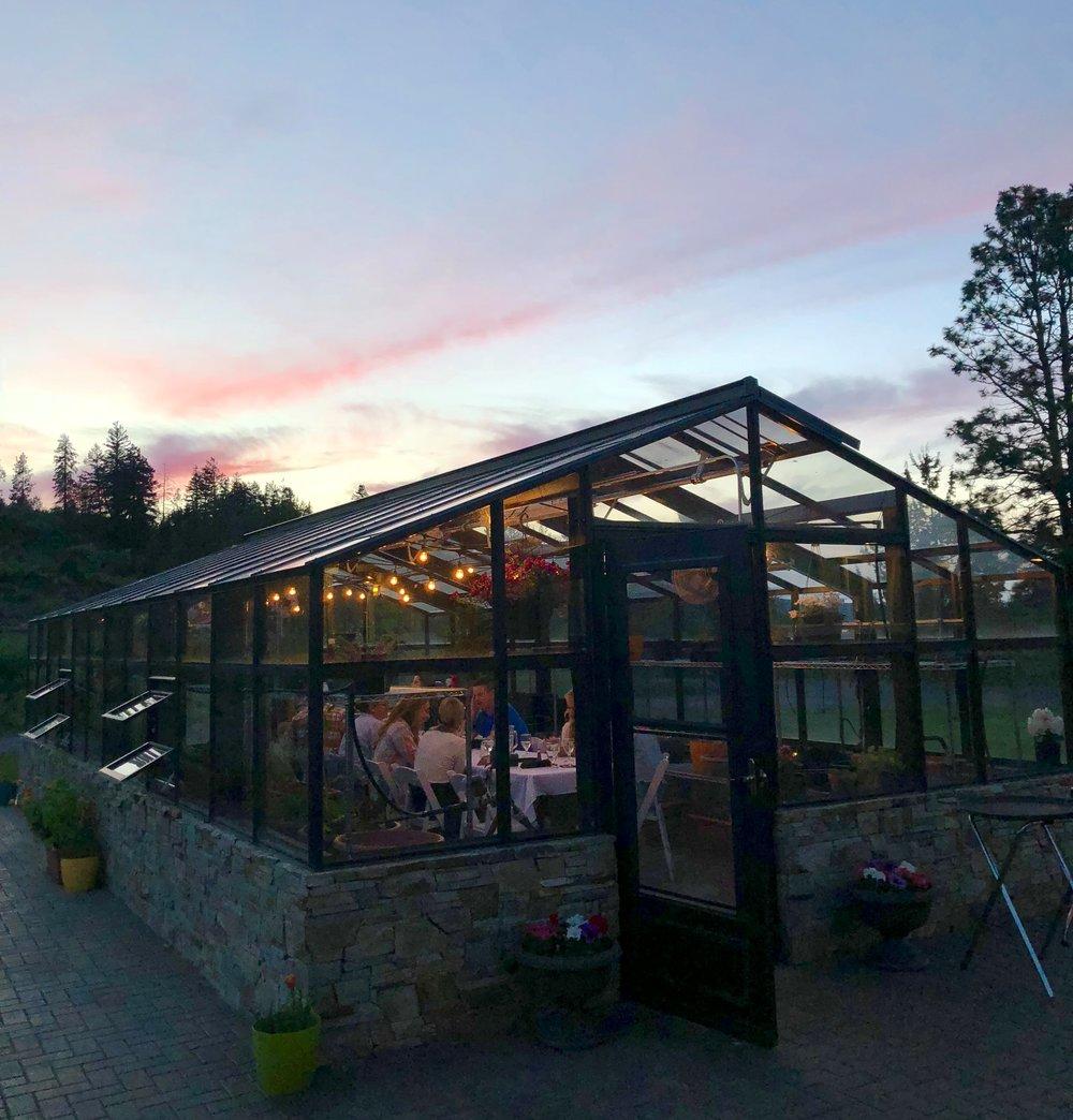 Dinner at Running Y Ranch Resort - Oregon