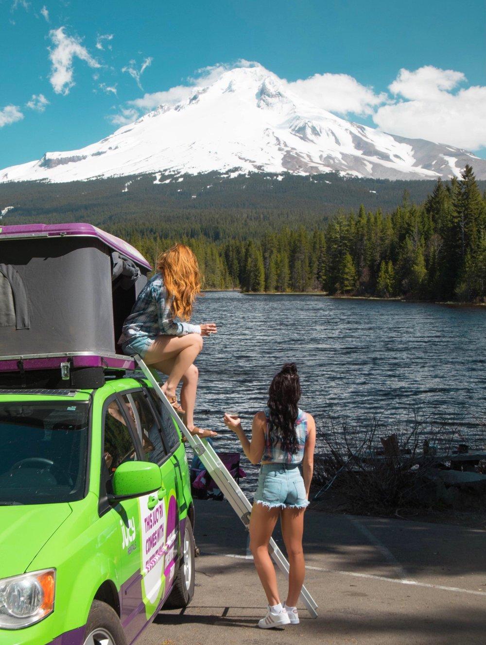 Trillium Lake, Mount Hood - Oregon