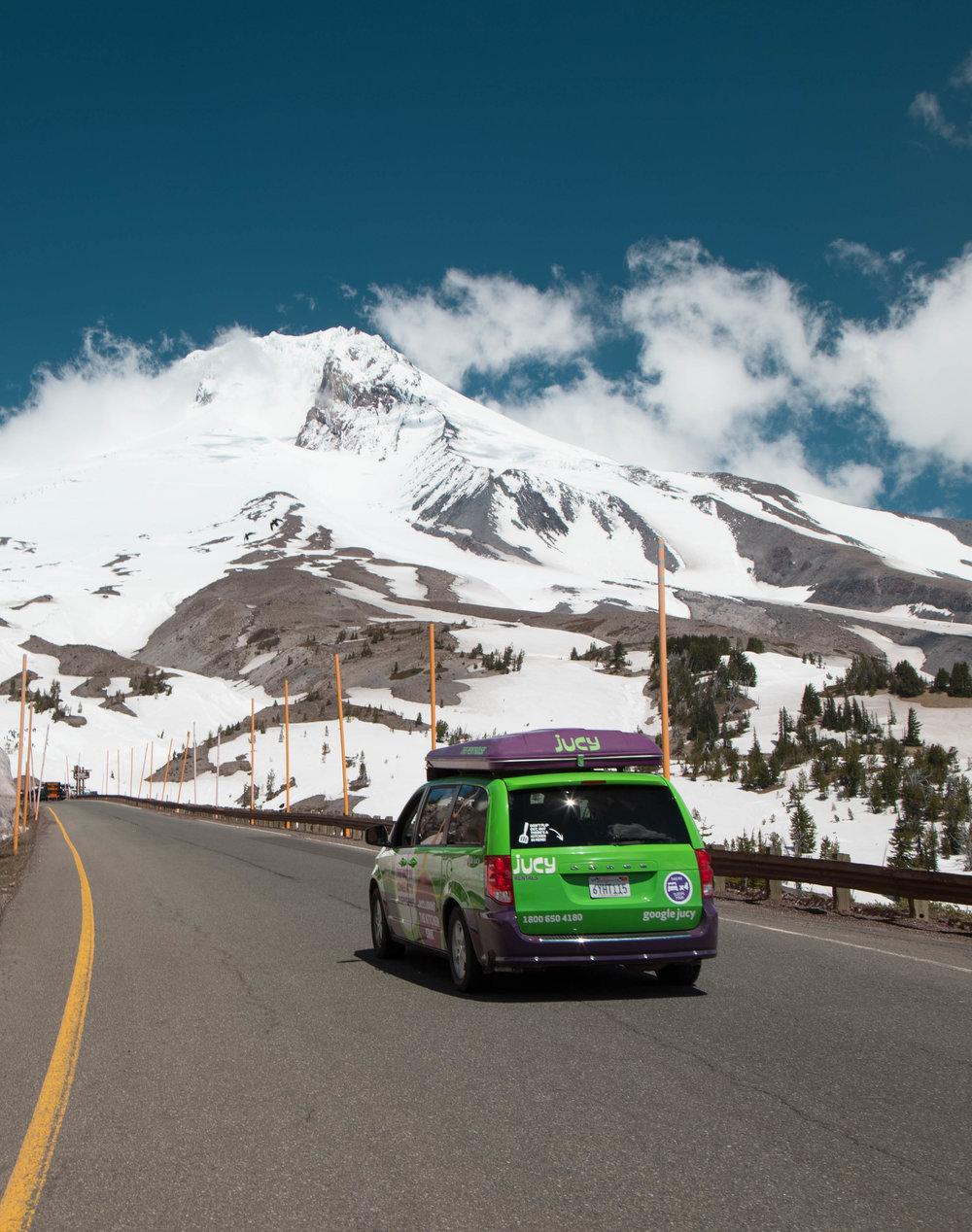 Driving around Mount Hood - Oregon