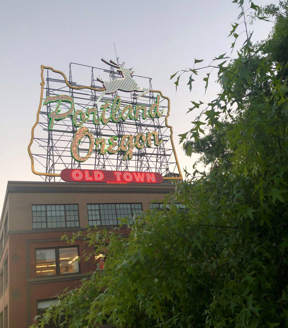 Portland Sign - Oregon