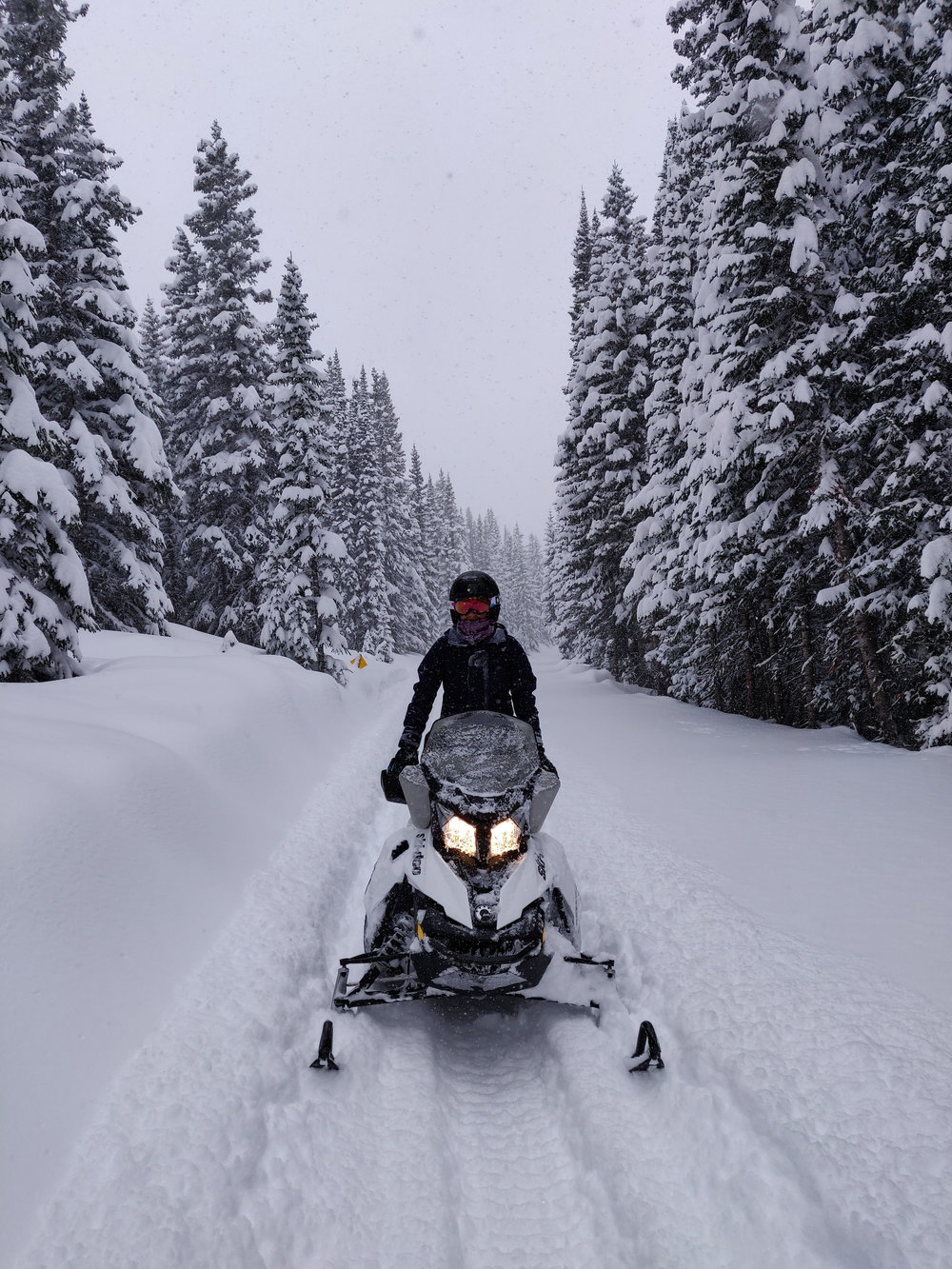 Grand Adventures Snowmobile Tour - Winter Park, Colorado