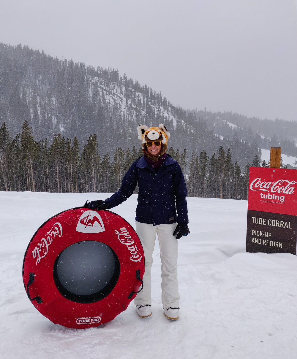 Coca-Cola Tube Park - Winter Park, Colorado