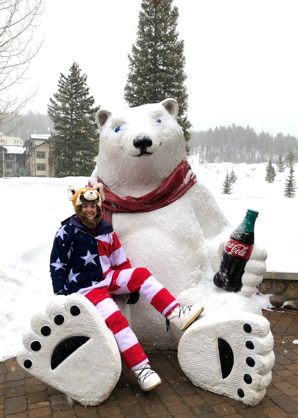 Coca-Cola Polar Bear - Winter Park, Colorado