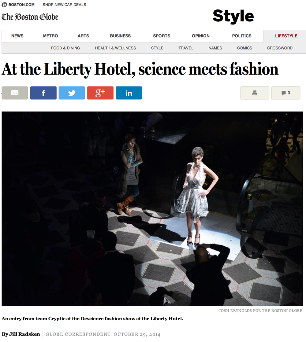 THE BOSTON GLOBE -