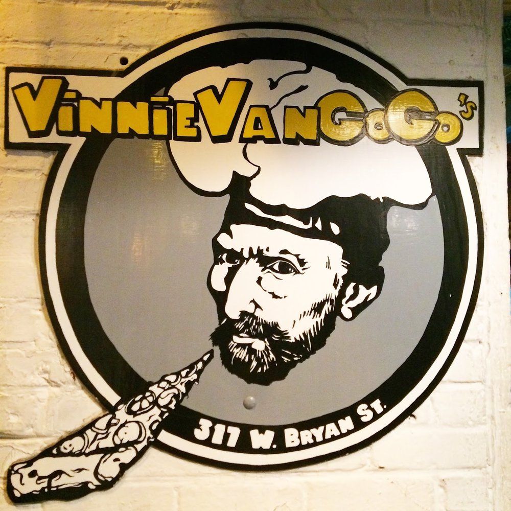 Vinnie's pizza by the slice