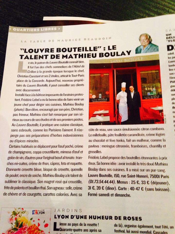 Figaro Magazine Mai 2015