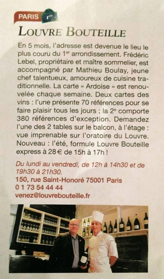 Paris Match, Samedi 27 juin 2015.