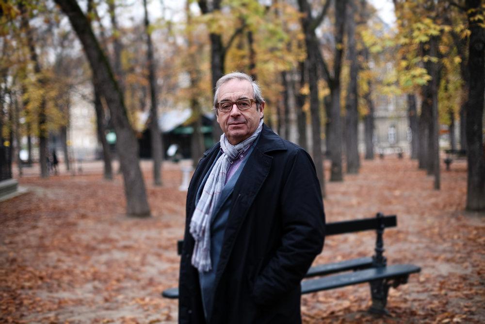 Pascal Picq, paléo-anthropologue au Collège de France. 2016.Pour Socialter.