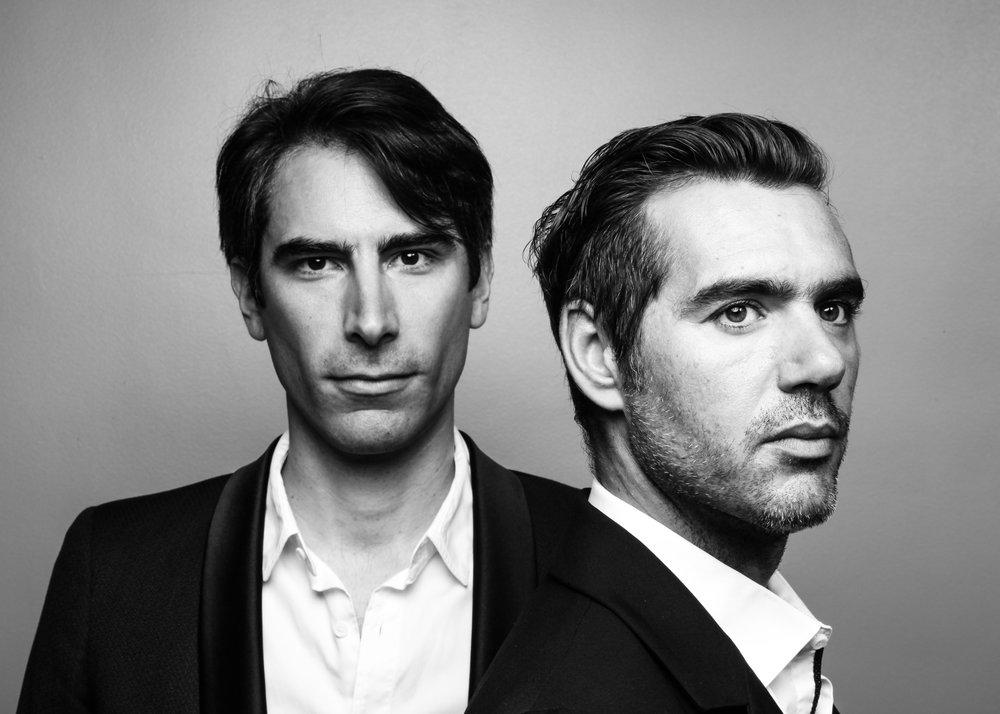 Jérémy Jouve (guitare) et Morin Christophe Morin (violoncelle). 2016.