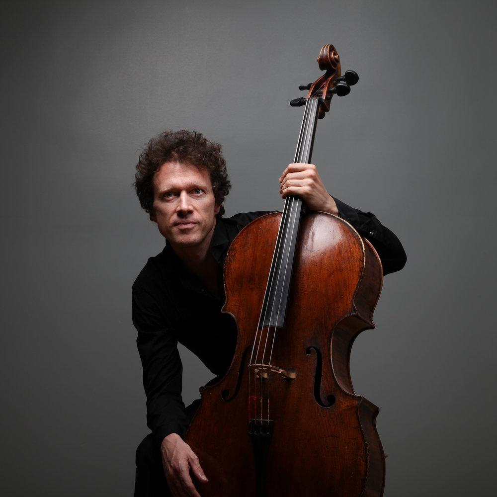 François Salque, violoncelliste et directeur artistique. 2016.