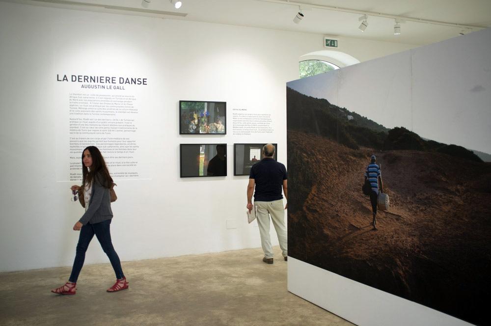 Exposition La Dernière Danse. Institut Français de Tunis. JUIN-JUILLET 2016