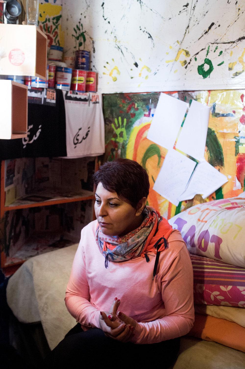 "Fatma Jeram. Tunis. Pèlerin Magazine. 2016. ""Portraits de 8 femmes tunisiennes."""