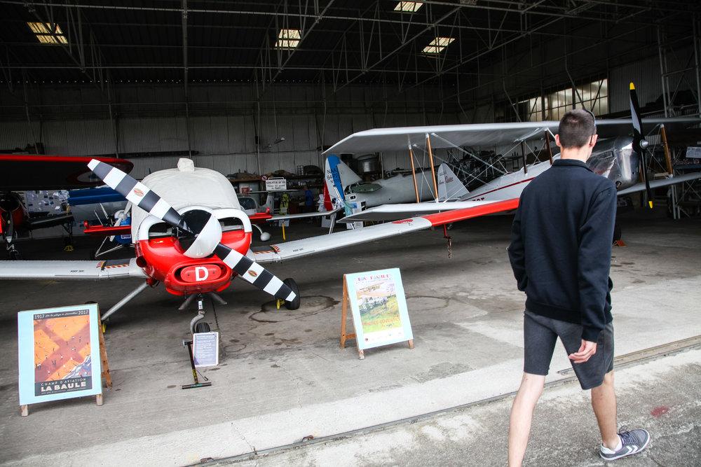 Musee Aeronautique de la Presqu'île Cote d'Amour (MAPICA),fonde en 1980, le Musee est reconnu dans le monde entier pour son travail de restauration et de preservation du patrimoine aeronautique.