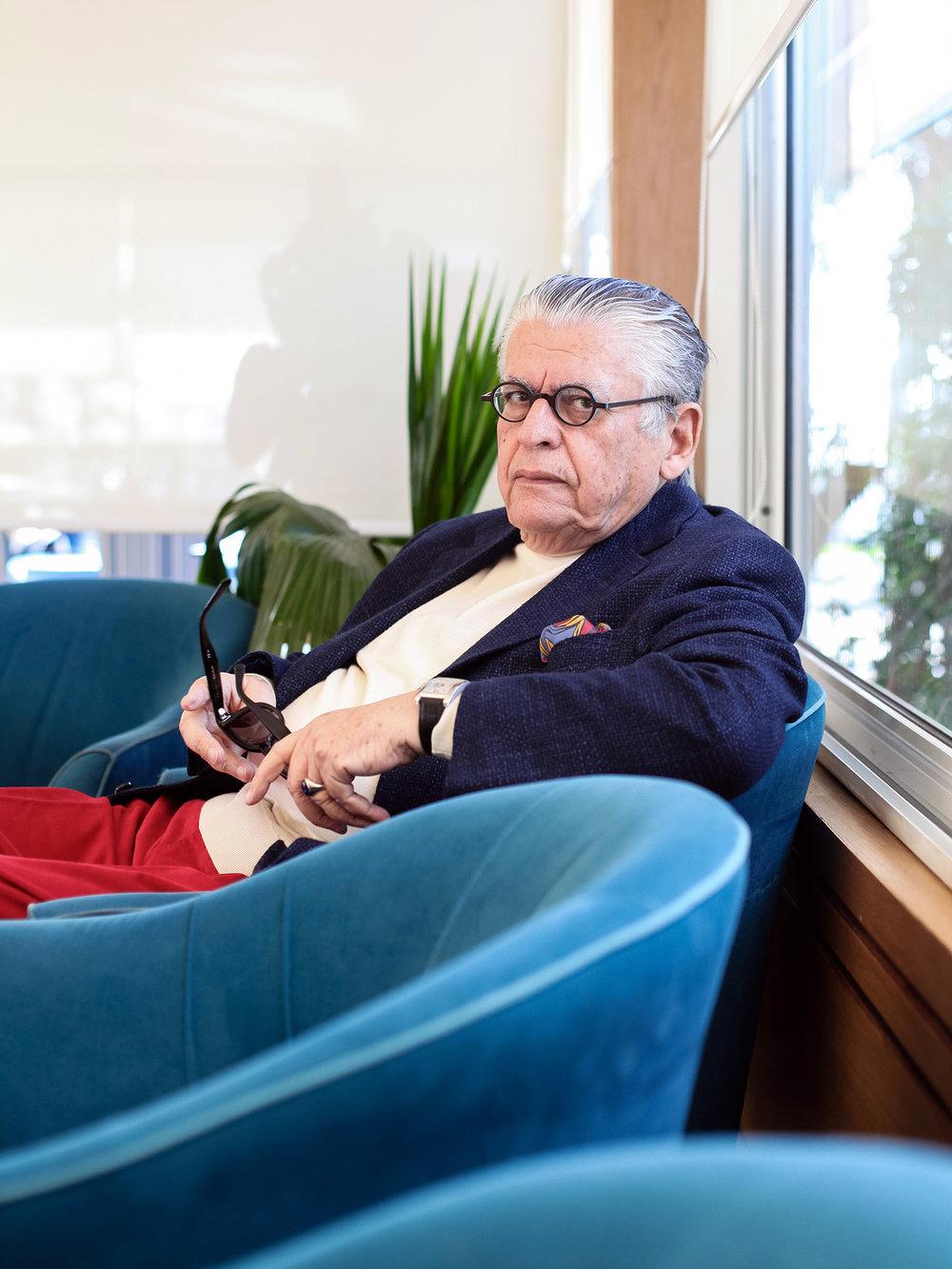 Youssef Zarrouk, Tunisian Business man, For the Globe and Mail. December 2017. Sidi Bou Saïd. Tunisia