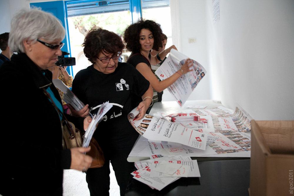 ELECTIONS DE L'ASSEMBLEE NATIONALE CONSTITUANTE • 2011