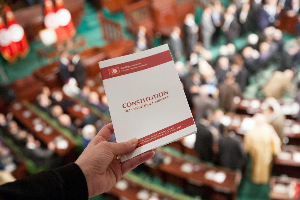 SIGNATURE DE LA CONSTITUTION • 2014