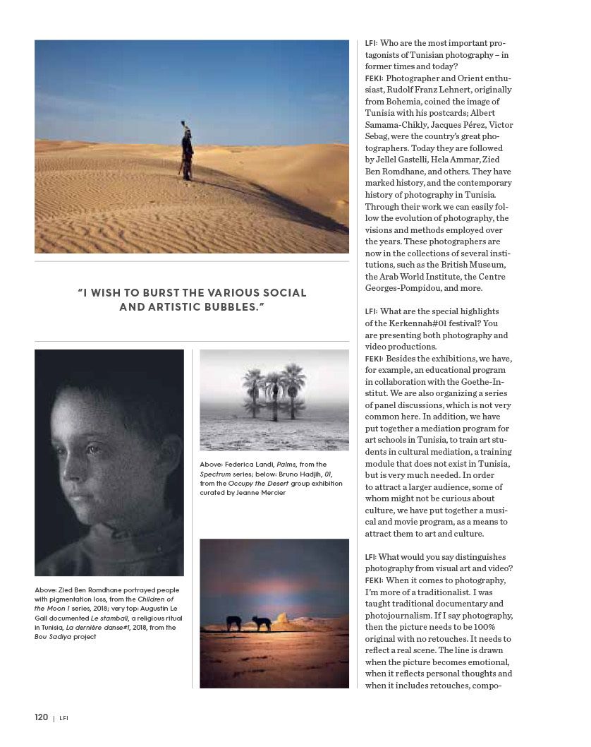"Series ""Looking for Saadiya"" in Leica Magazine. July 2018"