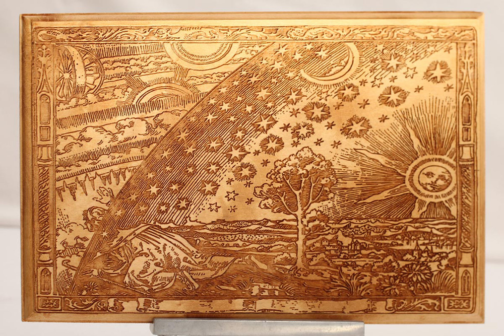 Traditional Etchings of Celestial Moon