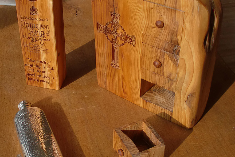 Secret Drawer Whisky Boxes