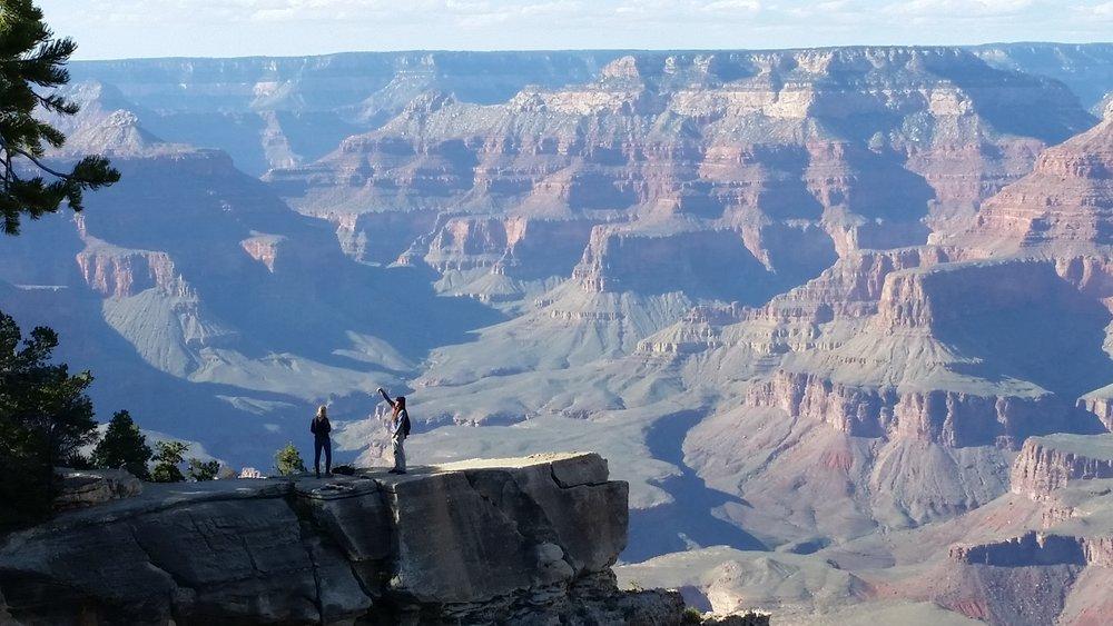 a beautiful shot ravi took of the grand canyon.
