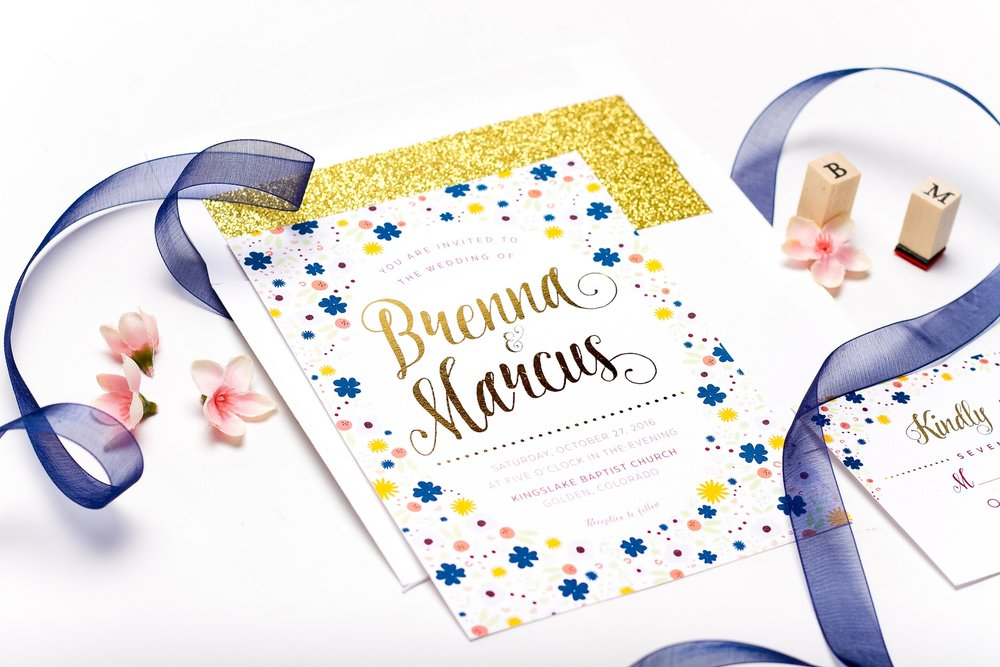 Golden Flourish Wedding Suite