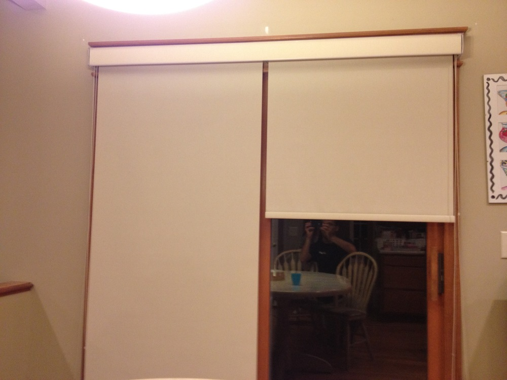 Carmel - Roller Shade on Sliding Door.jpg