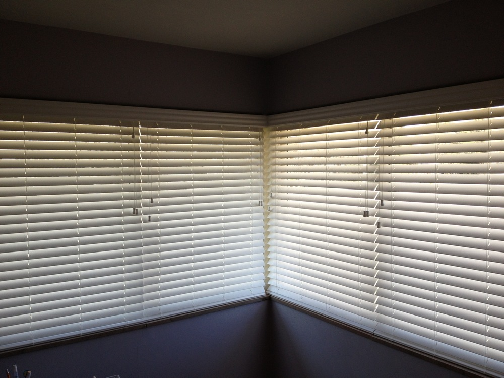 2 inch faux wood blinds in a cornerjpg
