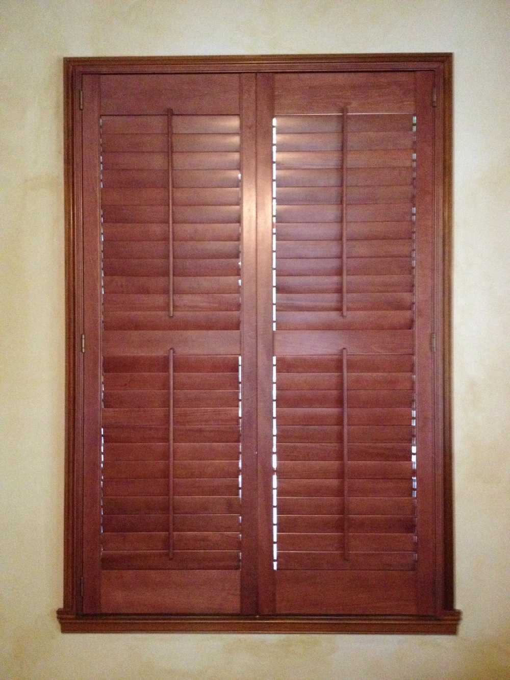 Village of West Clay, Carmel - Stained Wooden Shutter.jpg