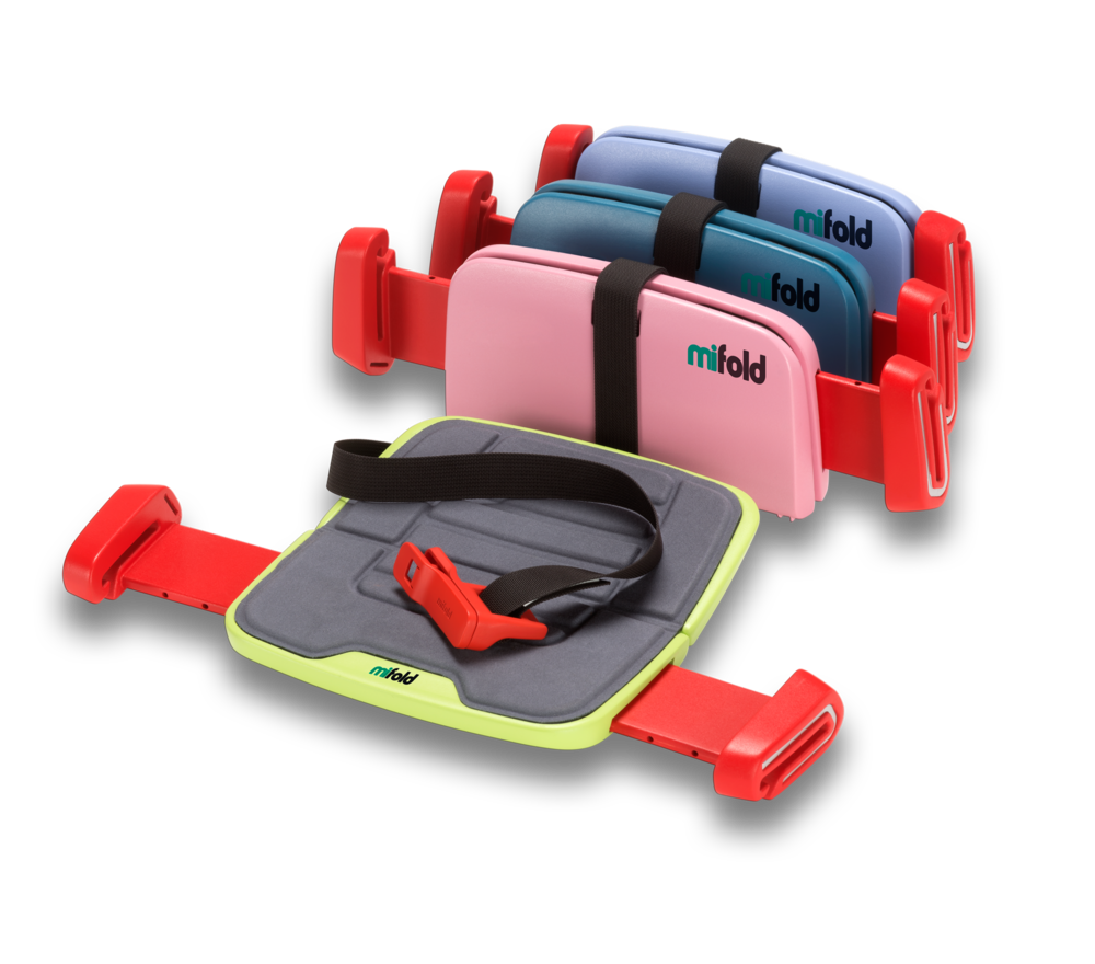 MOTHER & BABY - The New Mifold Booster Seat - It\'s Smaller Than An ...
