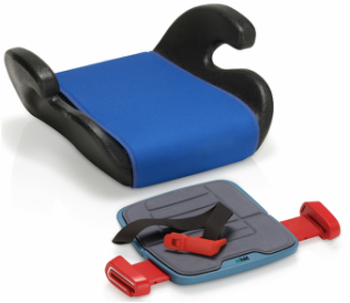 A child safety seat - slimmed down