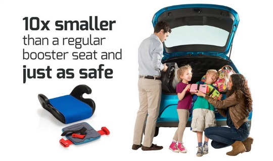 Mifold The Grab Go Booster Seat Thats Smaller Than An IPad