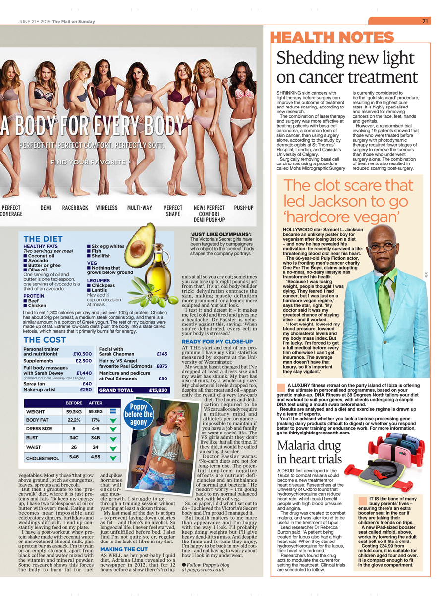 mail on sunday mifold health