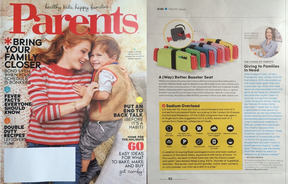 Parents Magazine A Way Better Booster Seat Mifold