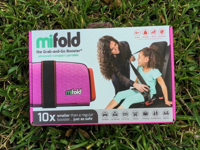 For ages 4 and up this booster seat is not only small but easy to install.
