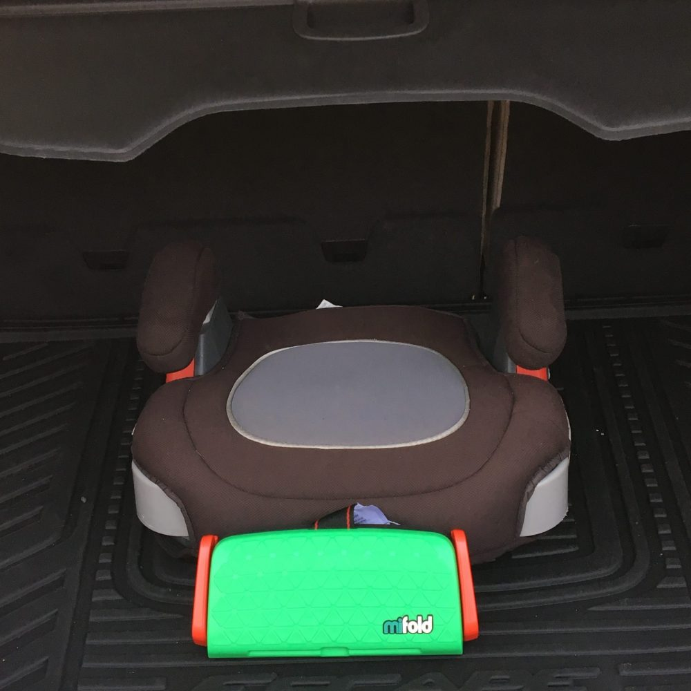 Car seat safety on the go with award winning mifold booster seat ...