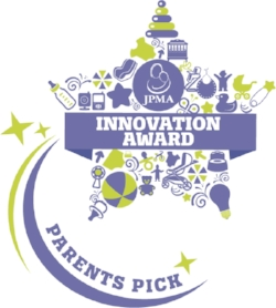 "The JPMA Innovation Awards (USA) - 2017 - Awarded for being voted one of the most innovative products in the US marketplace. mifold won the ""Parents Pick"" award. There was no panel of judges, it was a vote awarded by over 4,000 parents that took part."