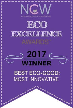 "The Eco - Excellence Award (USA) - (Again) - 2017 - The Eco-Excellence Awards recognize excellence in social and environmental sustainability for products, services and their companies. This time, mifold won the most innovative award in the ""Best Eco Good Innovation Award"" category, voted by parents."