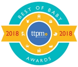 Toys, tots, pets & more (TTPM) (USA) - 2018 - TTPM, the leading video review company for toys, babies, pets and more, announced mifold as one of the winners in the car seat category for their highly anticipated Best of Baby Awards. The winners range from 21 baby companies including big names such as Fisher-Price, Summer Infant, Britax and now mifold.