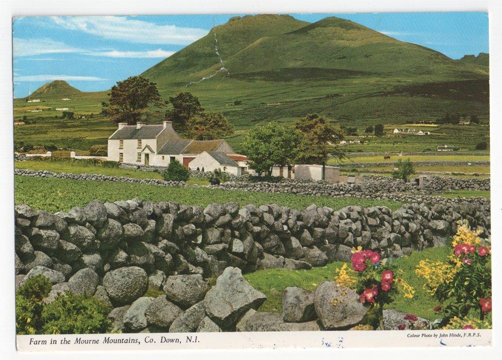 Photograph of a John Hinde postcard