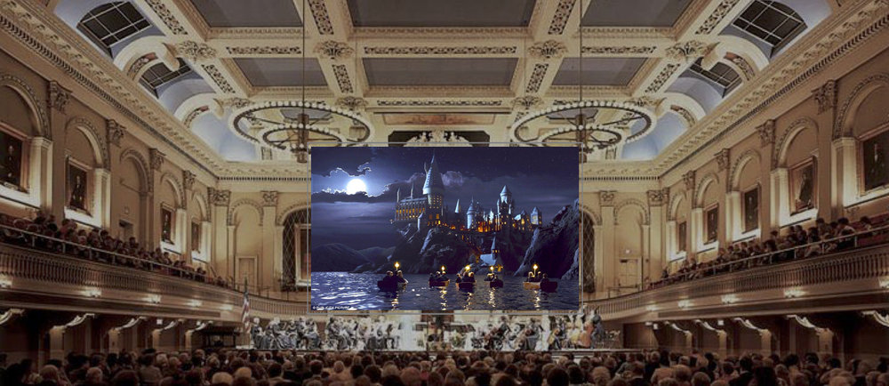 Halloween Concert at Mechanics Hall in Worcester, Massachusetts 'Harry Potter' film & music by John Williams