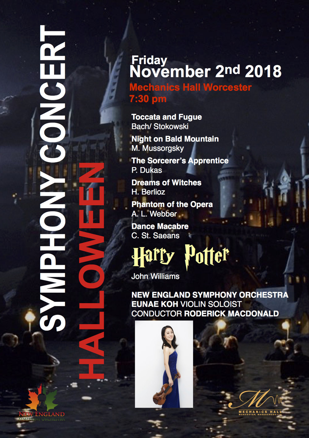 halloween concert worcester new england symphony orchestra new