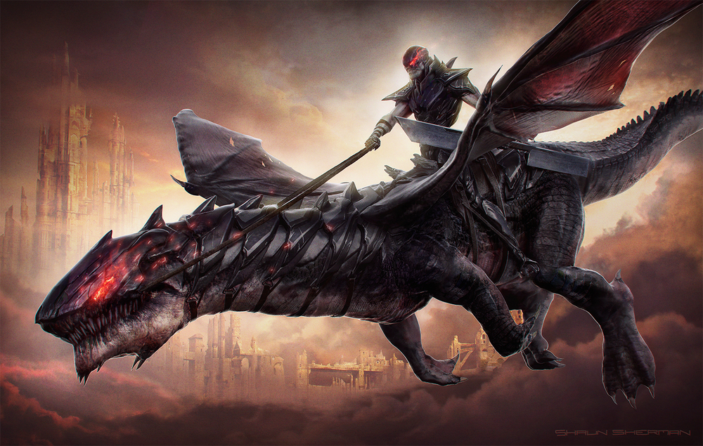 Dark Rider by Shaun Sherman