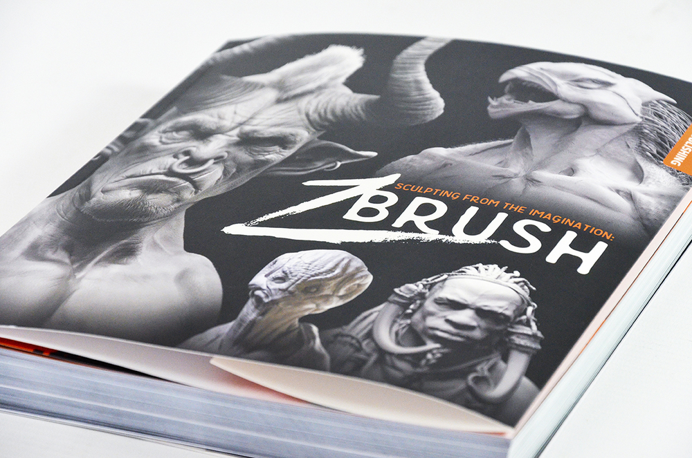 Sculpting from the Imagination - Zbrush, Cover Close Up