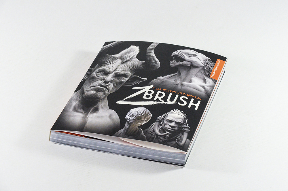 Sculpting from the Imagination - Zbrush, Cover Full