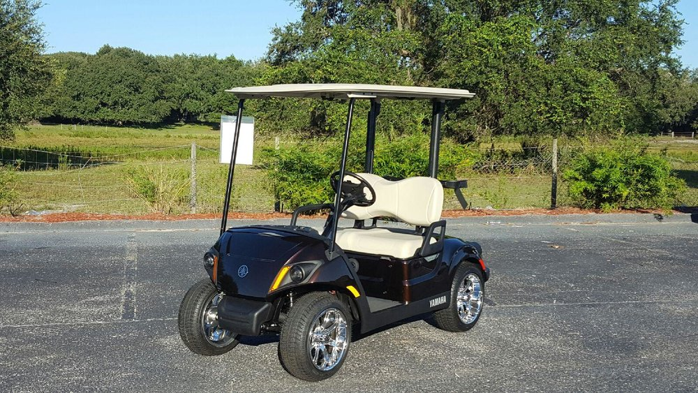 2018 yamaha drive 2 powertech 48 volt bargain carts for Yamaha golf cart dealers in florida