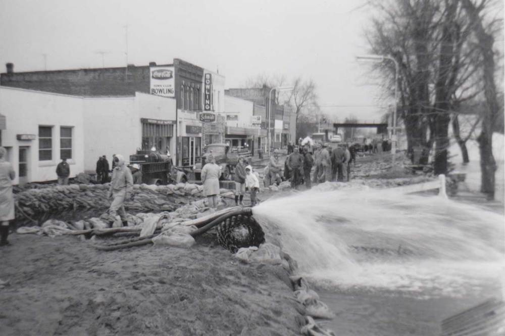 13. Crow River Flood, Town Club Bowling Lanes