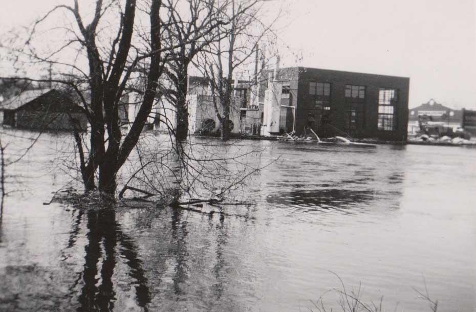16. Flood, Utilities Building