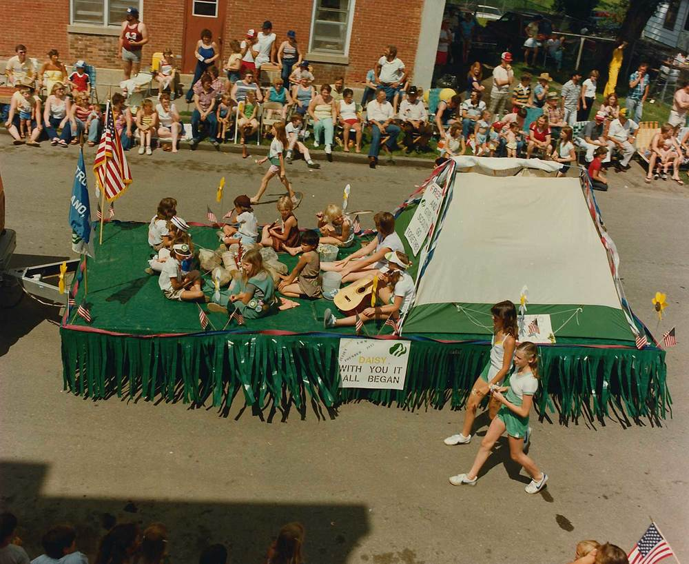 8. Girl Scouts, 1980