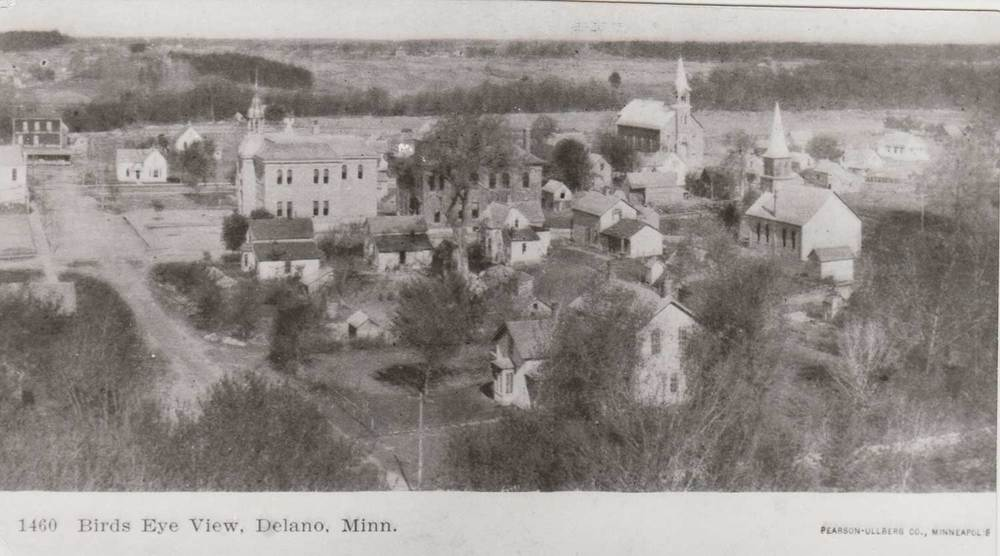 1. Birds-eye-view of Delano, MN,